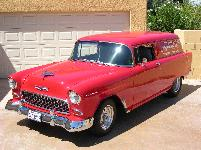 1956 Chevy Sedan Delivery Rod Sold