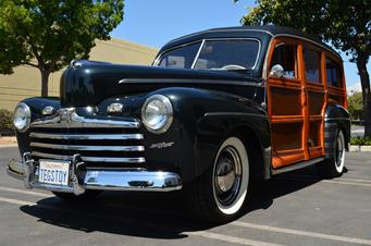 1948 ford deluxe woodie station wagon