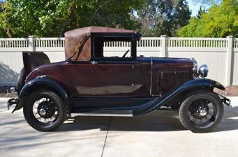 1931 model a sport coupe sold