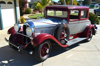 1928 auburn model 88 victoria sold