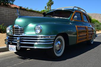 1948 packard woodie station wagon