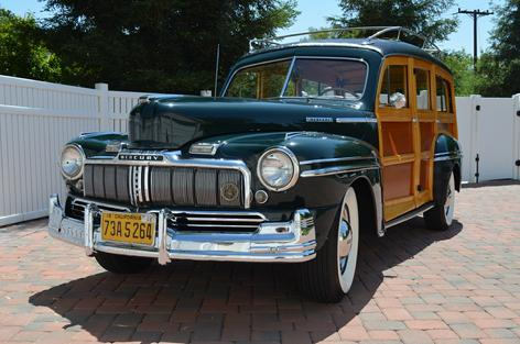 1948 Mercury Woodie Sold
